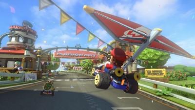 Mario kart dirka.