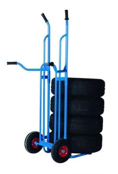 Praktičen in lahko obvladljiv transportni voziček